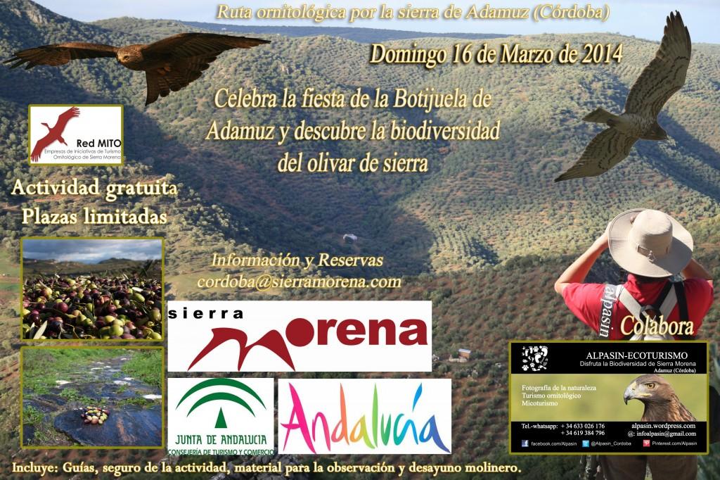 cartel ruta ornitológica_botijuela2014