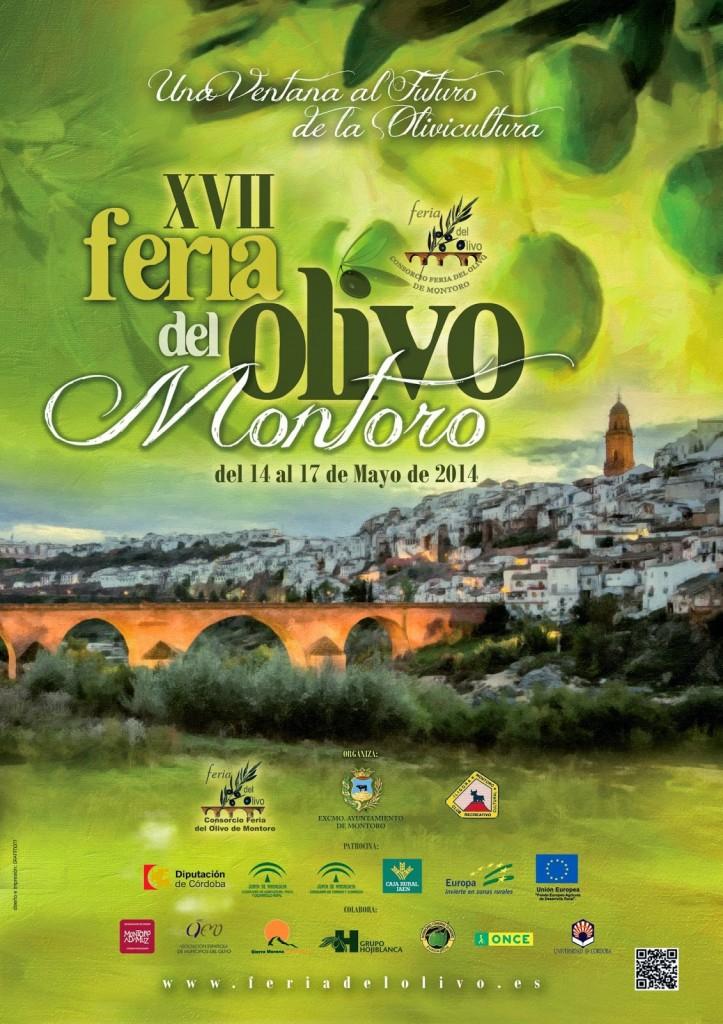 Cartel XVII Feria del Olivo de Montoro 2014