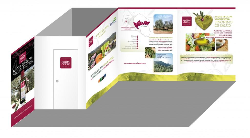 Diseño del stand de la DOP Montoro-Adamuz para la XVII Feria del Olivo de MOnt